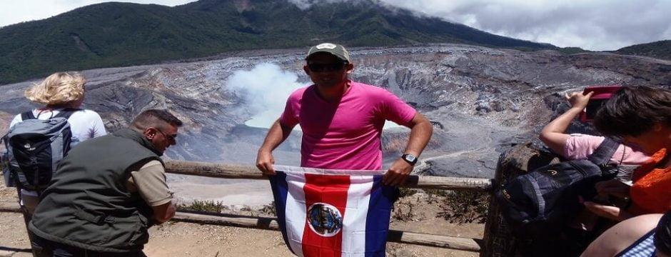 costarican volcanoes