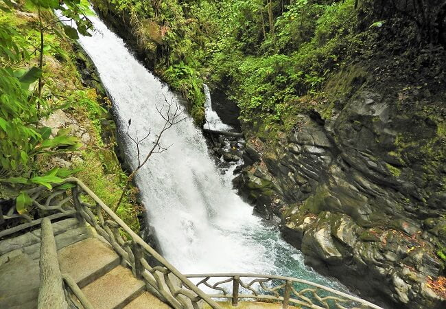 Waterfall- gardens-La-Paz