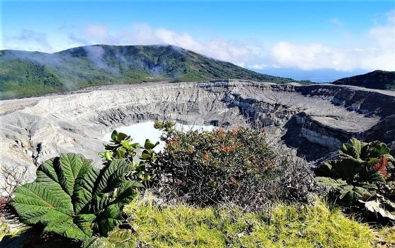 Poas Volcano National Park,.