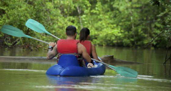 kayaking -Isla Damas
